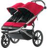 Thule Urban Glide Kinderwagen 2-zits rood/zwart